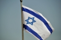 Eilat: Israelische Flagge