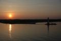 Sonnenuntergang in der Kieler Förde