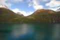 Ausfahrt aus dem Geiranger Fjord