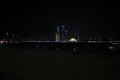 Abu Dhabi: Skyline bei Nacht