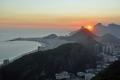 Rio de Janeiro: Sonnenuntergang auf dem Zuckerhut