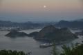 Rio de Janeiro: Abendlicher Ausblick vom Zuckerhut