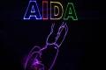 Lasershow an Bord der AIDAcara