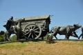 Montevideo: Denkmal La Carreta