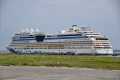 Tallin: AIDAsol im Hafen