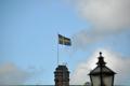 Stockholm: Schwedische Flagge