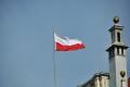 Danzig: Polnische Flagge