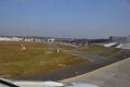 Landung in Frankfurt