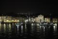 Abendliche Hafenausfahrt aus Venedig