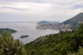 Dubrovnik: Ausblick auf die Altstadt