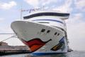Venedig: AIDAaura im Hafen