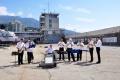 Jalta: Empfang am Hafen