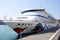 AIDAaura im Hafen von Odessa