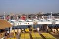 Blick auf Istanbul vom Pooldeck aus