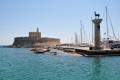 Rhodos: Hafenrundfahrt