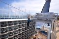 Oasis of the Seas: Zipline über dem Boardwalk