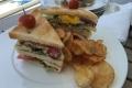 MS Europa 2: Suitenservice - Club Sandwich