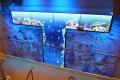 AIDAstella · LCD-Wand Treppenhaus