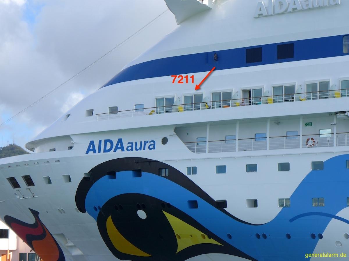 Aidaaura 183 Kabine 7211 Balkon Aida Und Mein Schiff