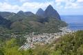 St. Lucia · Deux Pitons