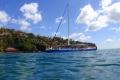 St. Lucia · Katamaranfahrt