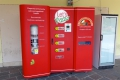 Neapel: Pizzaautomat in Sorrent