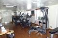MS Bremen: Fitnessraum