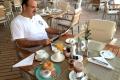 MS Europa 2: Frühstück im Yacht Club
