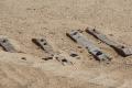 Wüste Namib: Alte Bahntrasse
