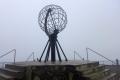 Weltkugel am Nordkap
