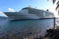 MS Europa 2 auf Dominica