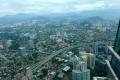 Kuala Lumpur: Ausblick von den Petronas Twin Towers