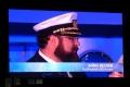 Kapitän Boris Becker kurz vor der Taufe im Livestream
