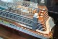 Schiffsmodell der AIDAprima