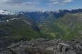 Blick vom Dalsnibba