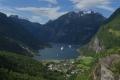 Blick in den Geirangerfjord