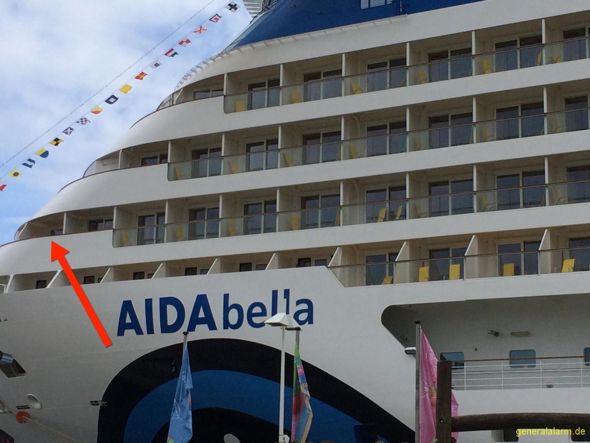 Aidabella 183 Kabine 7203 Balkon Aida Und Mein Schiff