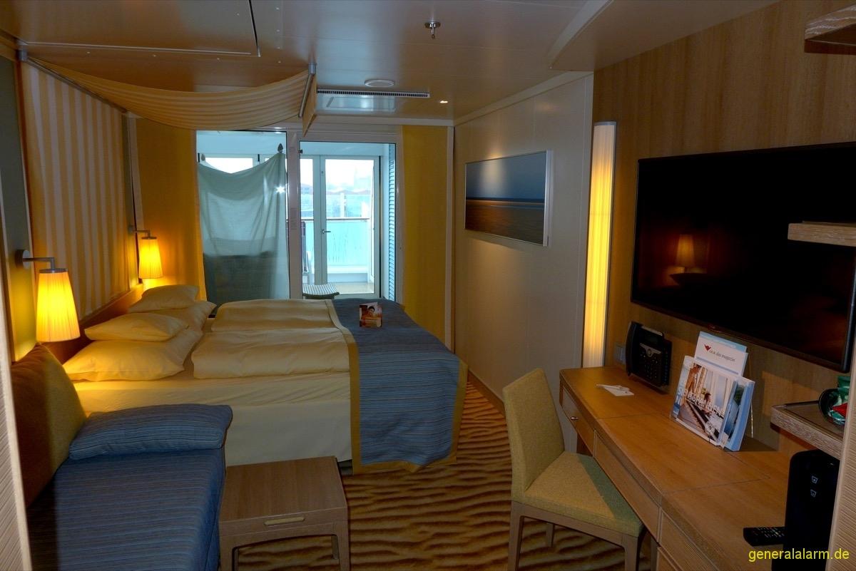 aidaprima kabine 8104 lanai aida und mein schiff reiseberichte. Black Bedroom Furniture Sets. Home Design Ideas