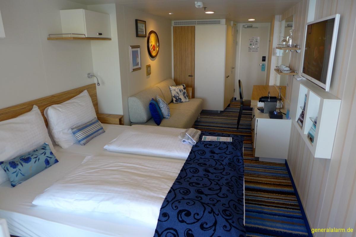 mein schiff 3 kabine 10131 veranda aida und mein schiff reiseberichte. Black Bedroom Furniture Sets. Home Design Ideas