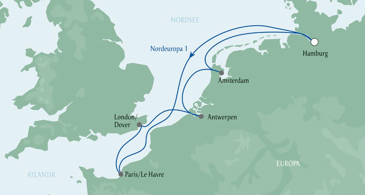 AIDA - Nordeuropa 1