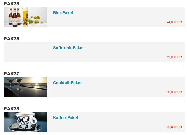 Jetzt neu: Getränkepakete › AIDA und Mein Schiff Reiseberichte