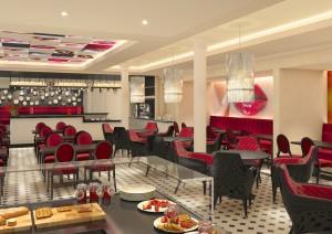 Brasserie French Kiss · © AIDA Cruises
