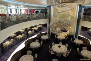 Restaurant Atlantik auf der Mein Schiff 3