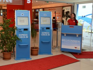 Express CheckIn · © AIDA Cruises