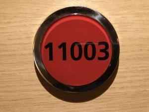 Kabinenschild 11003