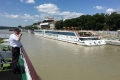 Anfahrt auf Bratislava