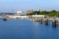 Hafeneinlauf in Kiel