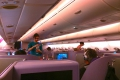 Thai A380: Service in der Business Class