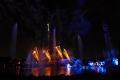 Seaworld: Feuerwerk und Fontänenshow