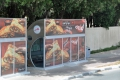 Dubai: Klimatisierte Bushaltestelle